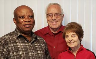 Janet, Wayne, and Victor Seraya